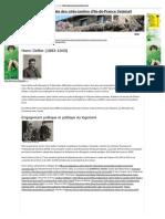 Biographie de Henri Sellier, Initiateur de Cités-jardins Parisiennes - Association Régionale des Cités-Jardins d'Ile-de-France