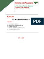 Plan de Gobierno Distrito de Quisqui 2015-2018-Listo