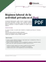 4 Regimen Laboral Privado
