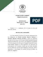SP2430-2018(45909) El caso Dilber.