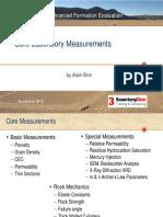 5.2 Core Measurements