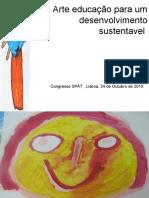 Arte educação para um desenvolvimento sustentavel