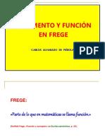 Argumento y función en Frege.ppt