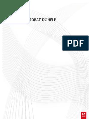 Acrobat Reference Manual | Computing | Technology