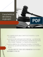 Características Del Sistema Anglosajón PPT