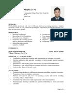 Enriquez CV