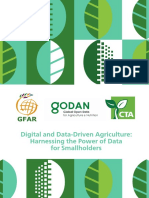 Data Driven Agriculture