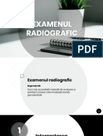 Interpretare radiografii