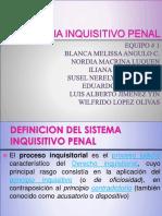 Sistema Inquisitivo Penal