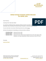Etihad Airways Adipec Flight Request Form
