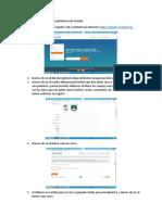 Elaboración de Un Test en La Plataforma de Chamilo