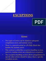 5 Exceptions
