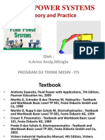 178629748 Fluid Power Systems Theory and Practice Ppt