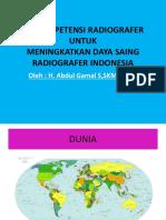Uji Kompetensi Radiografer Mg