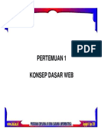 Pemerograman Web