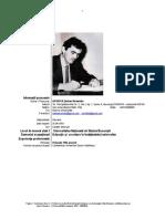 Prof. Univ. Dr.Habilitatus Serban Nichifor - CV Europass 2018
