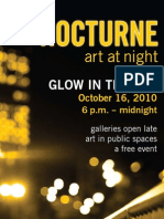 Nocturne Art at Night 2010