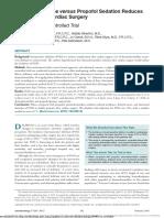 Dexmedetomidine vs Propofol - RCT - Merry Andriany 406162043