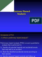 291930003 Preliminary Hazard Analysis