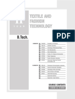 B.tech TFT 2nd year syllabus