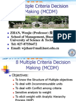 8 Multiple Criteria Decision Making.ppt