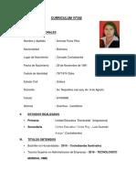 Curriculum Vitae _arminda