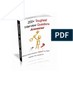 200+ Toughest Interview Questions Answered