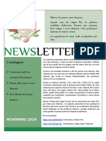 INSOAP Newsletter 03 Novembre