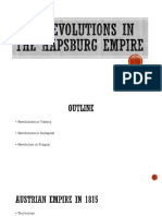 1848 Revolutions in the Austrian Empire