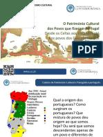Patrimonio Cultural - Os Povos Que Fizeram Portugal - Artur Filipe dos Santos