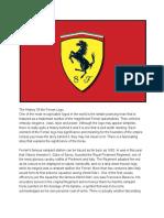 the history of the ferrari logo