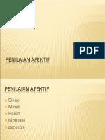 PENILAIAN+AFEKTIf (12 September 2018)