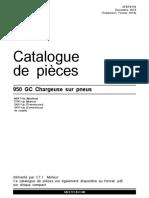 Catalogue de Piéces Chargeuse 950GC