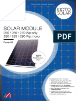 Kioto Solar Db Power60 en 150216