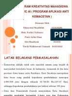 pkm traffic ai ( program anti kemacetan )