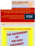 The Sacrament of the Holy Eucharist 2