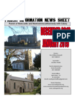 December 2018/January 2019 News Parishes of Newcastle & Newtownmountkennedy with Calary, in east Co. Wicklow