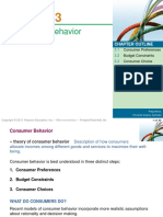 a152 Beeb2013 Ch3 Theory of Consumer Behavior Pindyck8e