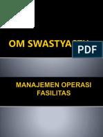 manajemen  FASILITAS