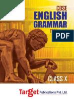 Cbse Std 10 English Grammar