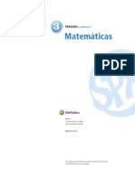 Matemáticas 3ºPrimaria