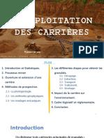 Exploitation des Carrières.pptx