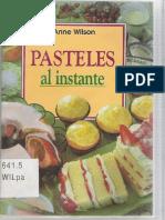 Pasteles al Instante