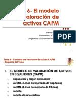 Presentación CAPM Economía Financiera