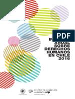 INFORME ANUAL SOBRE DERECHOS HUMANOS en CHILE 2016 - Capítulo 9 Derechos Humanos de Las Personas Intersex en Chile - Centro de Derechos Humanos UDP