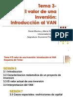 Tema 3 VAN y TIR