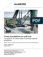 Crane Foundation on Soft Soil