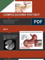 Complicaciones Post Ercp