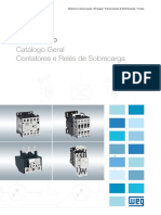WEG contatores e reles de sobrecarga.pdf