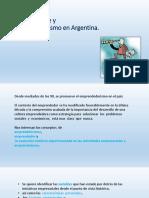 Globalización, Incertidumbre y Emprendedorismo en Argentina